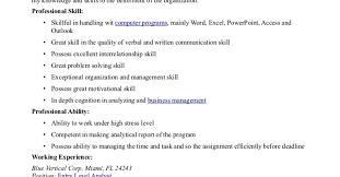 Sample Resume Of Business Analyst In It Industry Awesome Job