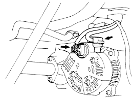toyota corolla alternator wiring diagram wiring schematics repair s charging system alternator autozone mitsubishi e wagon 4g9 charging system 2006 toyota corolla alternator wiring diagram