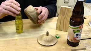 Holz Dunkel Len. Cool Len Mit Holz By Flaschen Aus Len Mit Kerzen