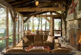 Rustic style interior fit the spacious accomodation: cottage, townhouse,  villa, etc. Rustic interior design style of the house is a wood and stone,  ...