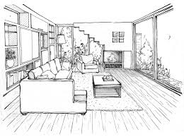 Living Room Coloring 17 Best Images About Living Room Illustrations On Pinterest