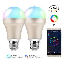 Speaker Light Bulb Alexa Us 27 22 19 Off Bb Speaker Led Lamp Rgb Wifi Smart Bulb E27 220v Smart Light Smart Bulb Wifi Alexa Google Home App Remote Control Smart Bulbs In