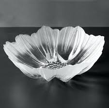 decorative glass bowls decorative glass bowls delectable anemone clear glass large mats decorating inspiration decorative glass decorative glass bowls