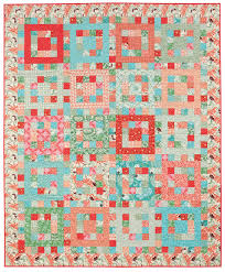 "5 fast, fat-quarter friendly quilt patterns - Stitch This! The ... & Sherbet Punch quilt "" Adamdwight.com"