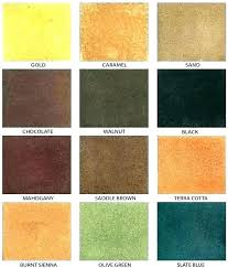 Behr Semi Transparent Wood Stain Color Chart Behr Concrete Stain Colors Chart Wenpon Me