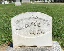 """Augusta """"Gussie"""" Caldwell Cory (Unknown-1877) - Find A Grave Memorial"""