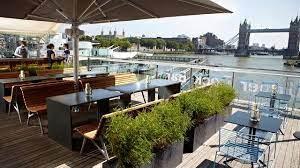 upper deck bar cafe at hms belfast