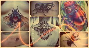 фото тату жук достойные примеры готовых татуировок с жуками