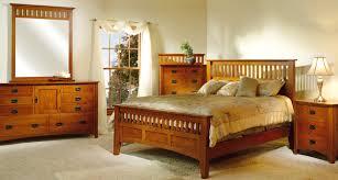 mission antique bedroom set