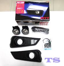 Set Fitt Kit Switch Fog Lamp Spot Light For Honda City 4 Dr Sedan