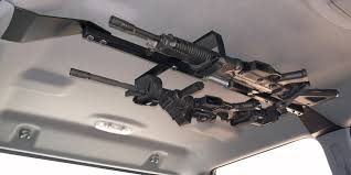 CENTER-LOK OVERHEAD GUNRACK FOR TACTICAL WEAPONS – TRUCK | Great Day ...