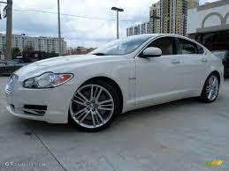 2010 Porcelain White Jaguar XF XF Supercharged Sedan #48663276 ...