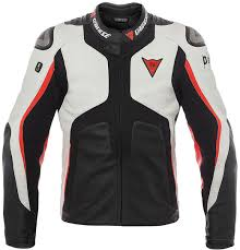 dainese misano 1000 d air bag leather jacket clothing jackets motorcycle white black