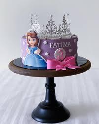 Princess Sofia The First Theme Birthday Cake Happy Birthday Fatima