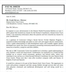 Cover Letter For Community Service Community Outreach Cover Letter Pohlazeniduse