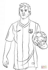 Ausmalbilder Fußballspieler Messi 1161 Malvorlage Fußball