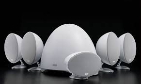 kef 5 1 surround sound speakers. with its famously wide dispersion characteristics and sonic purity, this technology is what gives the system extraordinarily natural sound quality. kef 5 1 surround speakers