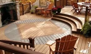 wood patio ideas. Wood Decking On A Patio Ideas E
