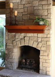 Stone Fireplaces and Wood Mantels - Traditional - Family Room ...