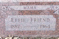 Effie Warner Friend (1887-1964) - Find A Grave Memorial