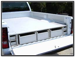 homemade truck bed storage drawers