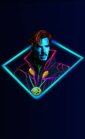 Doctor Strange:Marvel Neon Wallpaper ...