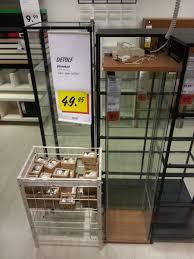 detolf glass door cabinet lighting. Ikea Detolf Glass Display Cabinet Light 51 With Door Lighting C