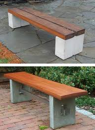 diy cinder block outdoor furniture. Cinder Block Garden Bench Diy Benches And Tables Made With Blocks Outdoor Furniture
