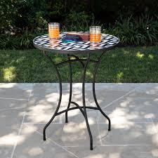 erik round outdoor accent table pier 1