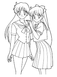 Small Picture Sailormoon Coloring Pages