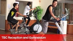 tbc reception and gym hall tbc reception and gym hall