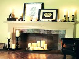 decorative fireplace mantel decorating fireplace mantels decorate with candles decor crave decorate fireplace mantel with tv