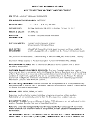 Wonderful Aircraft Mechanic Resume 14 Unforgettable Entry Level