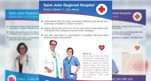 Hospital Flyer Templates And Designs Website Design Free Updrill Co