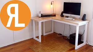 How To Make A Corner Desk On A Budget