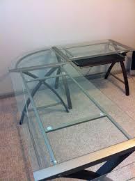 sharper image glass desks – starting at   stuff for sale