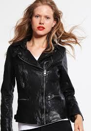 leather jacket noir