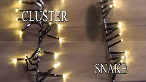 Christmas Snake Lights Snake And Cluster Lights