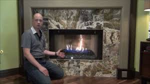 glass fireplace update