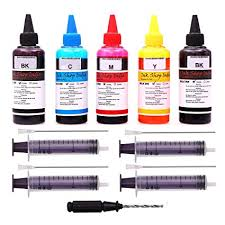 <b>Ink</b>-Shop-India Refill <b>Ink</b> Bottles Kit with Tools for HP and Canon ...