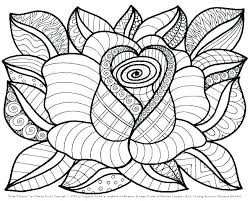 Free Color Pages Of Flowers Spring Coloring Pages Flowers Printable