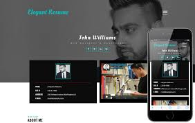 Resume Free Template resume templates - w3layouts.com