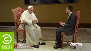 Saverio Raimondo: Intervista (finta) a Papa Francesco - CCN - Comedy  Central - YouTube