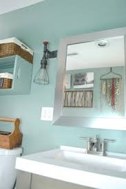 behr bathroom paintBathroom update in modern mint Behr Color Trends Giveaway