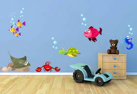 under the sea decals for wall fish wall decal new picture fish wall decals home decor