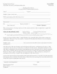 Field Trip Permission Slip Template High School Parental Consent Forms Template Capriartfilmfestival