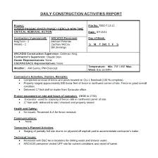 Employee Daily Activity Log Work Log Template Construction Daily Best Of Job Cost Record