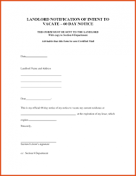 Notice To Vacate Property Template Notice To Vacate Template Moa Format 7