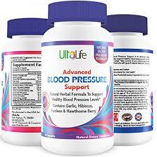 Best High Blood Pressure Pills To Lower Bp Naturally Advanced Hypertension Supplement W Potent Vitamins Herbs Garlic Hawthorn Berry Forskolin