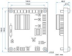 permanent magnet generator automatic voltage regulator dimension generator automatic voltage regulators avr